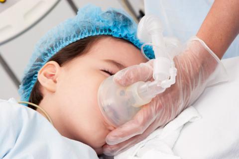 anestesia niños